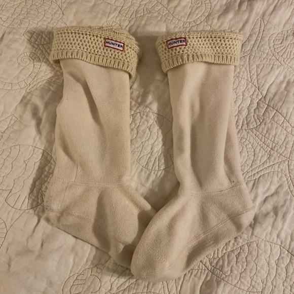 EUC size 8-10 Hunter boot socks